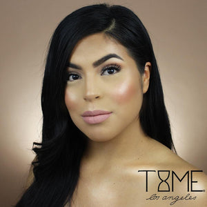 Time Los Angeles Pink Buttercream Luxe Matte Liquid Lipstick