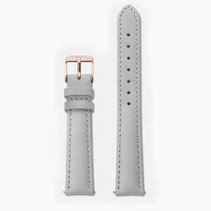 GRAY · LEATHER STRAP