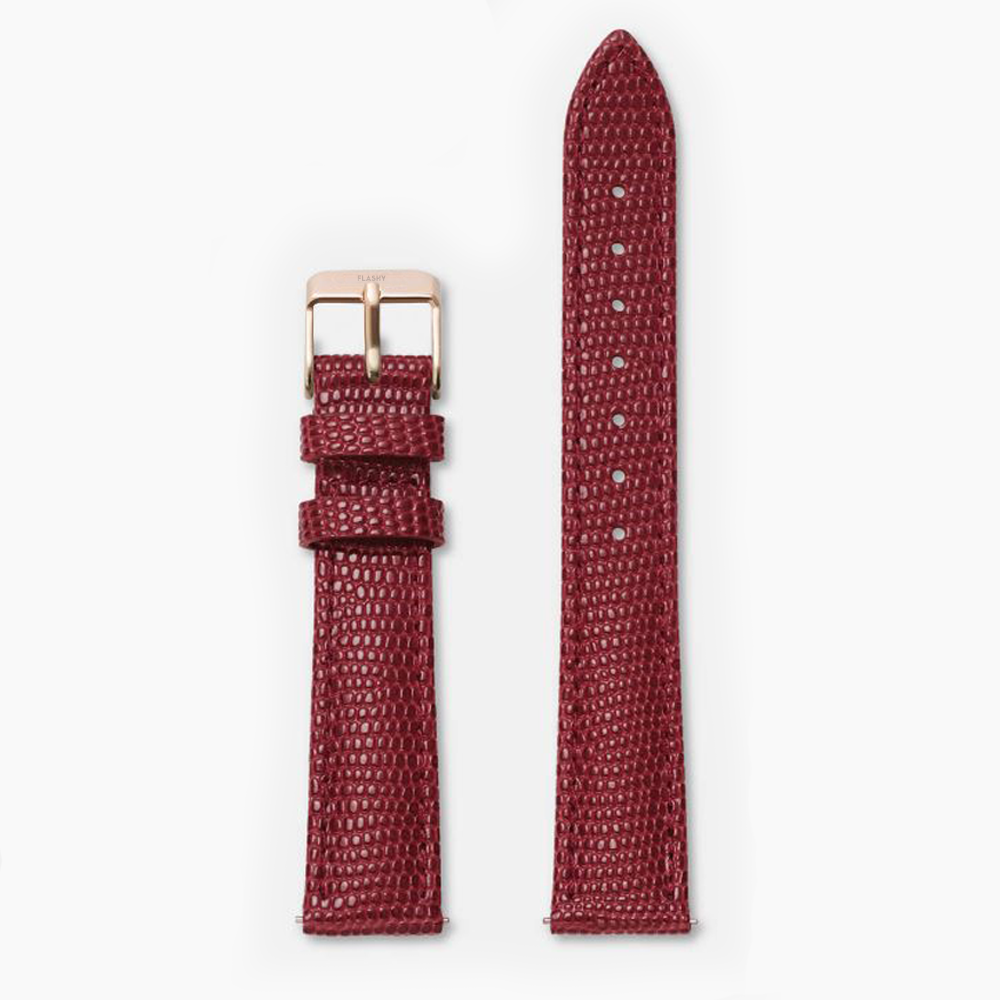 LIZARD · LEATHER STRAP