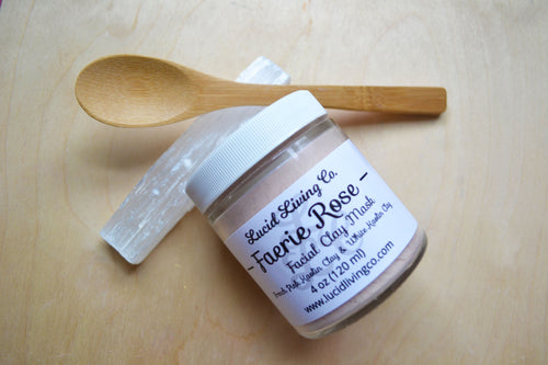 Faerie Rose Clay Mask