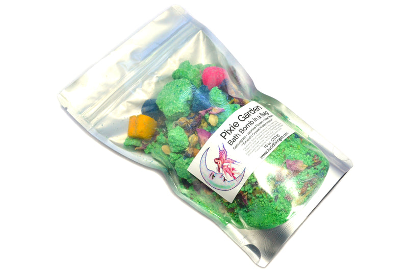 Pixie Garden Bath Bomb in a Bag