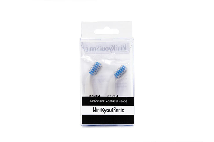 Subscription Kyoui Replacement Toothbrush Heads for Mini Sonic for KIDS (Pack of 2) - Kyoui