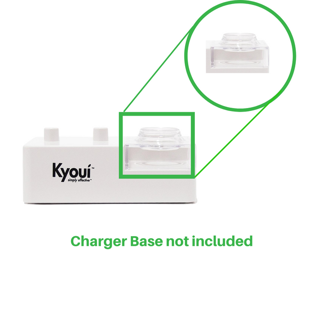 Clear Plastic Cover for Charger Base - Kyoui Sonic 3000