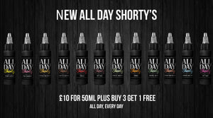 New All Day Shorty's Available Now
