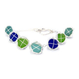 a sea of colors bracelet (multiple choices) - tossed & found jewelry
