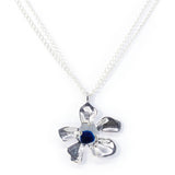 plumeria genuine Seaham sea glass necklace