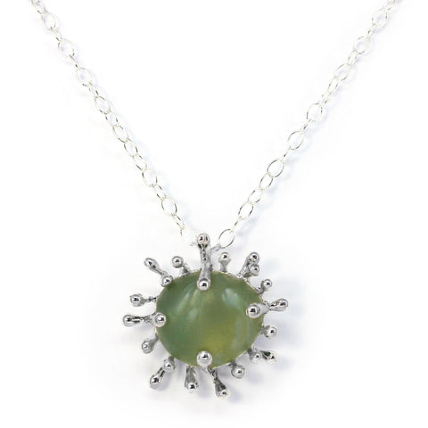 Davenport sunburst sea glass necklace
