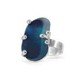 royal Seaham sea glass ring