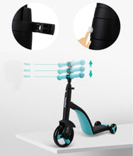 Load image into Gallery viewer, 3 In 1 Tricycle Scooter