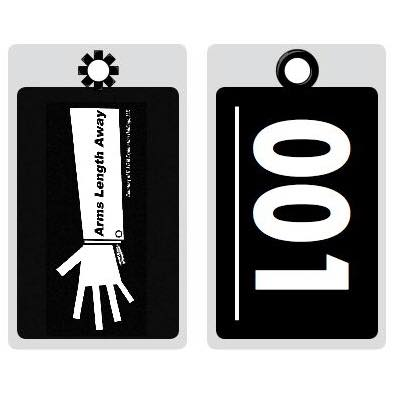 Arms Length Away Luggage Tags (Set of 3)