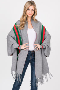 THE BELLEZZA DESIGNER-INSPIRED WRAP - GREY