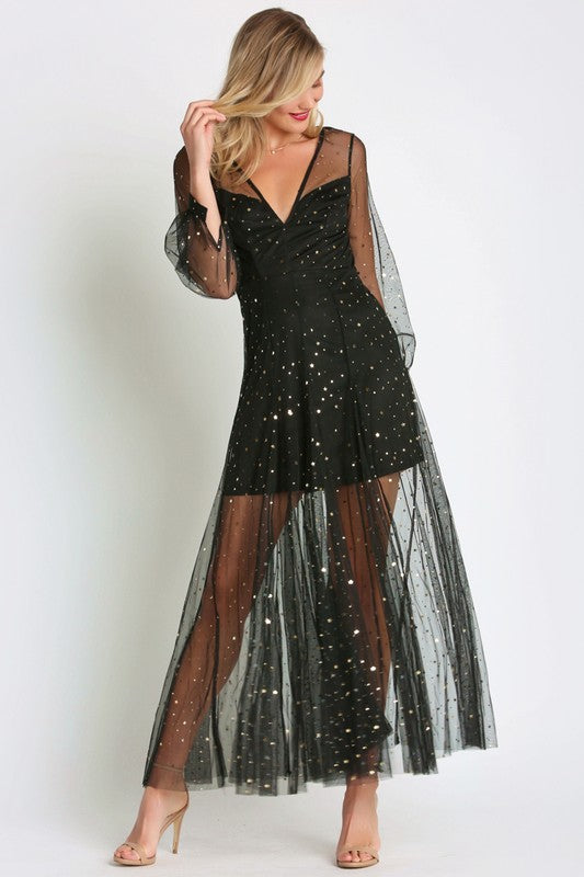THE ALL THAT GLITTERS DRESS - ONLINE EXCLUSIVE