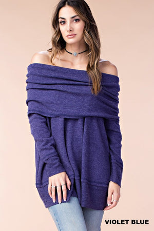 THE SAFFRON SLOUCH SWEATER