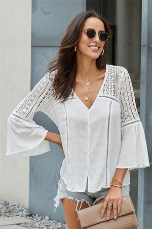 THE DU JOUR WHITE TOP