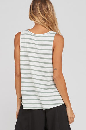 THE MAE STRIPED TANK
