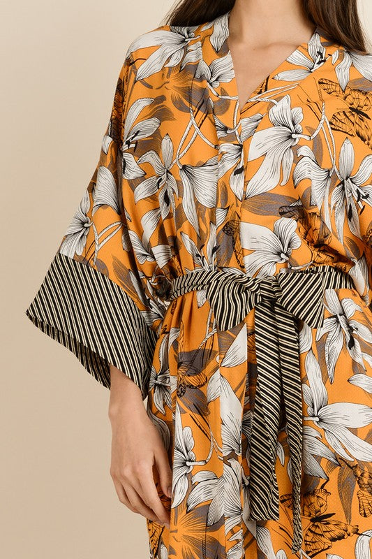 THE GIRASOL KIMONO DRESS