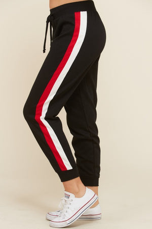 THE HAPPY GLAMPER JOGGERS - BLACK
