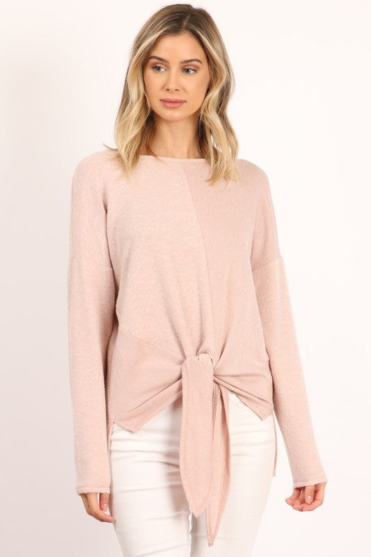 THE OLLIE FRONT TIED TOP