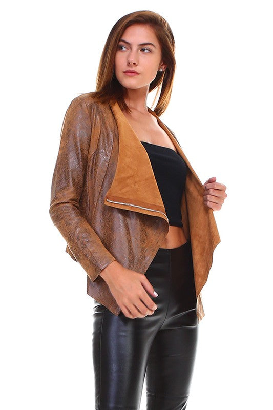 THE ISIA DRAPED JACKET