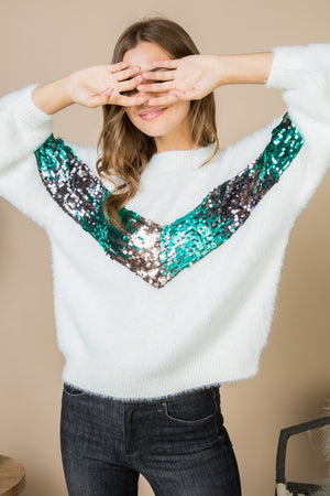 THE OPAL SEQUIN KNIT