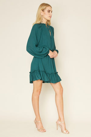 THE JOYEUX WEAR ANYWHERE DRESS - BURNT ORANGE