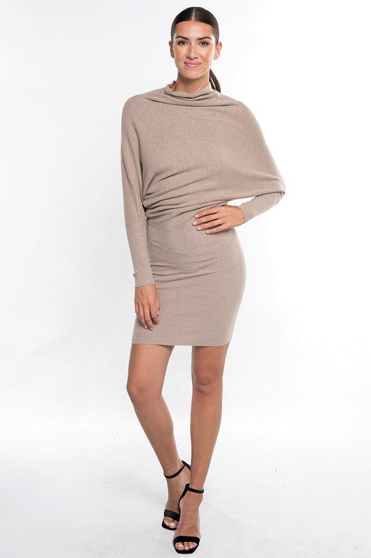 THE LIV ESSENTIAL SWEATER DRESS