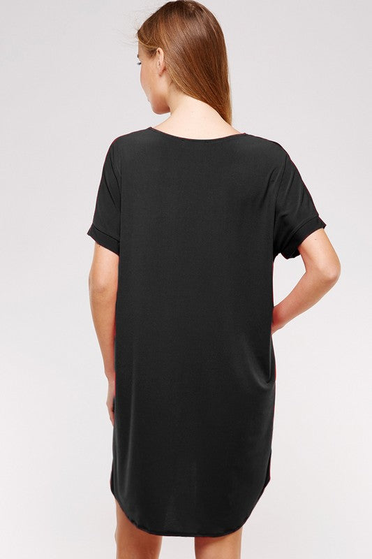 THE SUNDOWN TEE STYLE DRESS