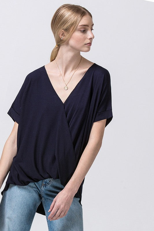THE SASHA SHORT SLEEVE TOP