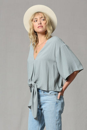 THE ESSENTIAL KIMONO TOP - IVORY