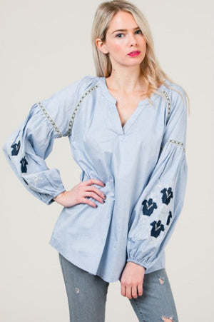 THE SEASONS CLASSIC BOHO TOP