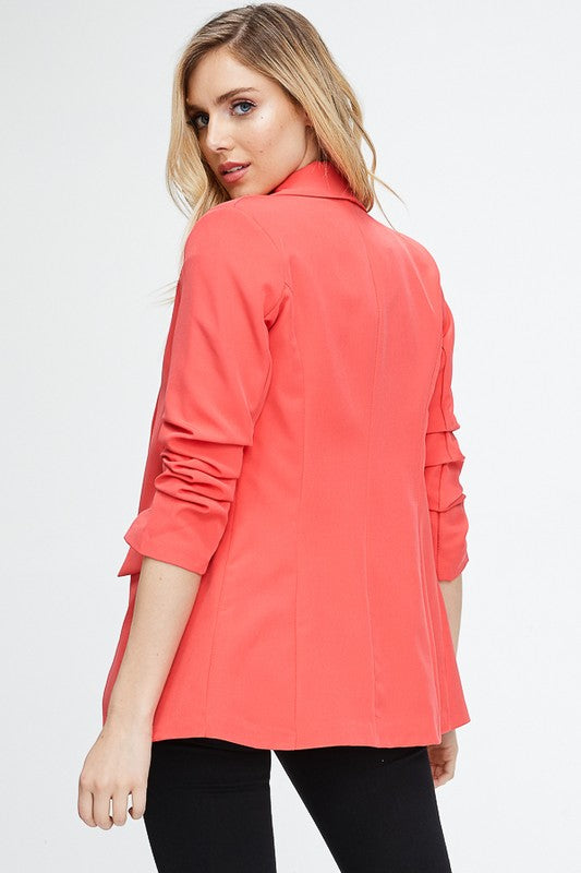 THE BRIGHT BLAZER - HOT PINK ONLY