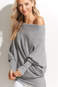 THE ESSENTIAL ASYMMETRIC - HEATHER GREY