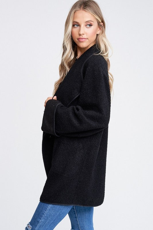 THE ISIA TEDDY WRAP JACKET