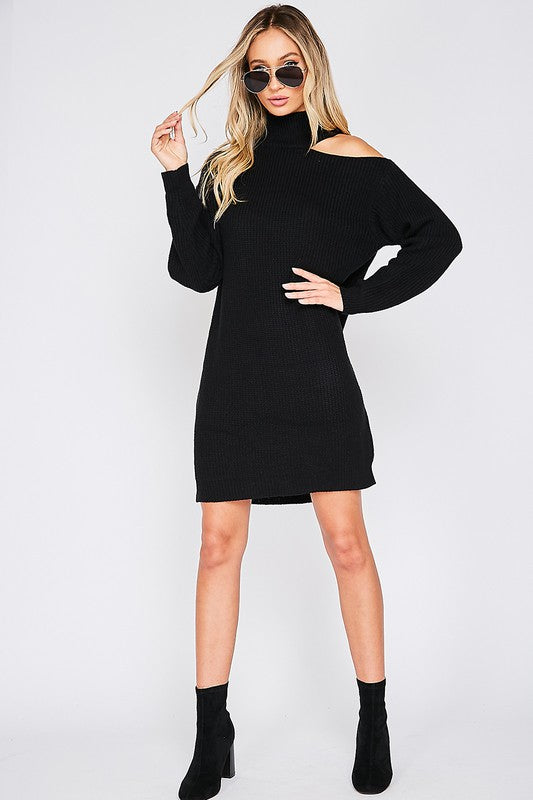 THE AUTUMN ALL SWEATER DRESS