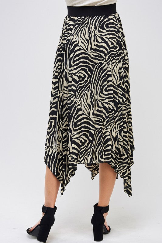 THE PREY FOR IT MIDI SKIRT