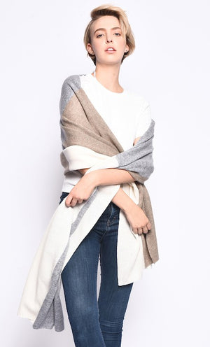 THE EVERYWHERE CASHMERE WRAP
