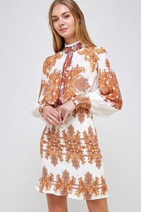 THE OR PRINTED DRESS