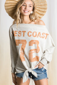 THE CALIFORNIA STRONG RELAXED TOP