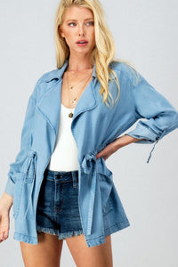 THE MONACO FOR ME LIGHTWEIGHT JACKET - DENIM