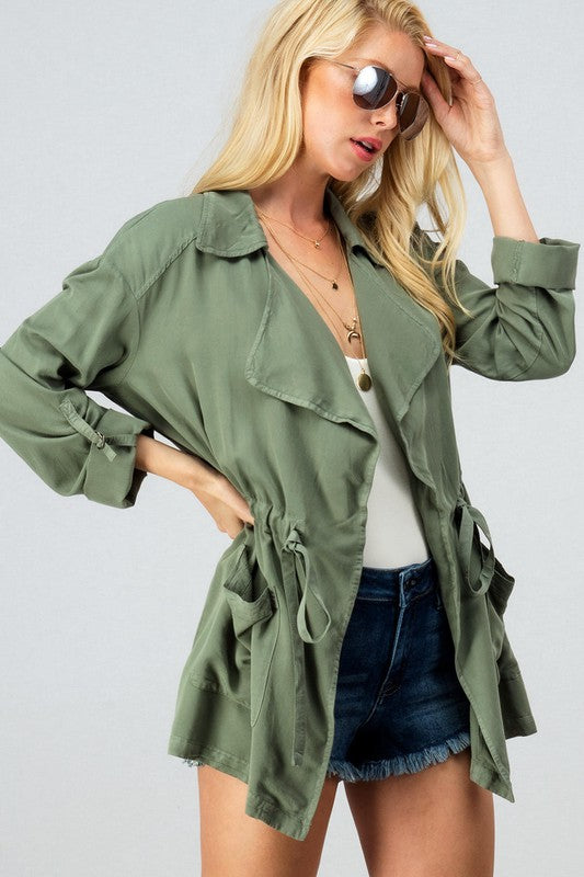 THE MONACO FOR ME LIGHTWEIGHT JACKET - OLIVE