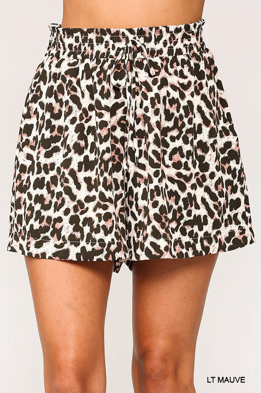 THE JAGUAR LEOPARD SHORTS