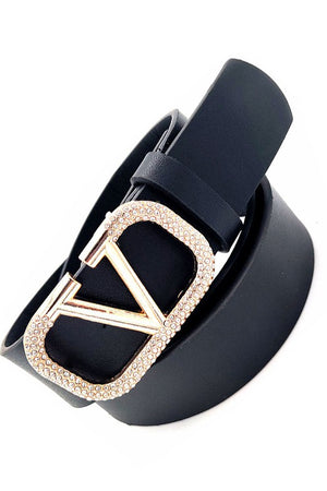 THE V BUCKLE BELT