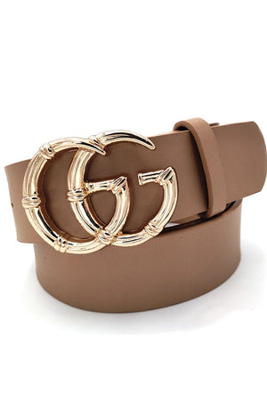 THE STATEMENT BELT - MOCHA