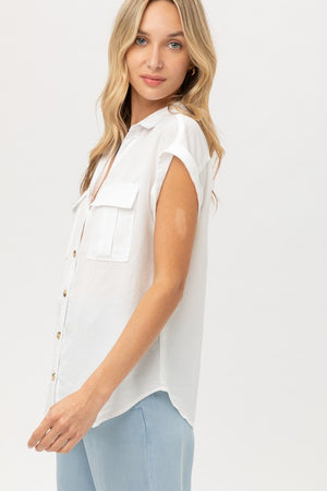 THE ESSENTIAL EDIT WHITE SHIRT - DENIM