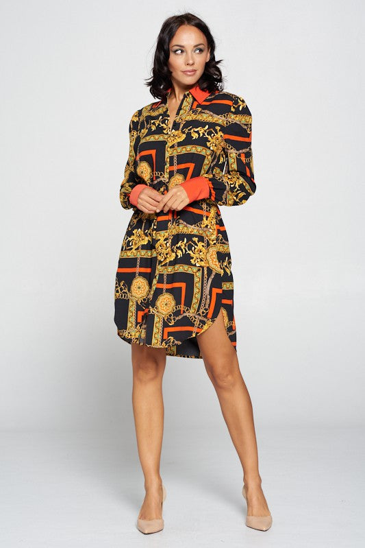 THE FAULTLESS SHIRT DRESS
