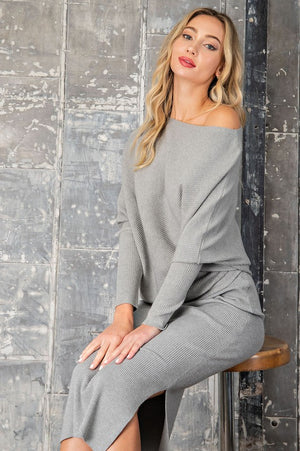 THE ALL NEW ASYMMETRIC SWEATER