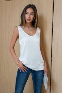 THE JAYE SILKY SOFT TANK