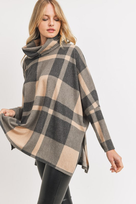 THE FALLING FOR FALL PONCHO