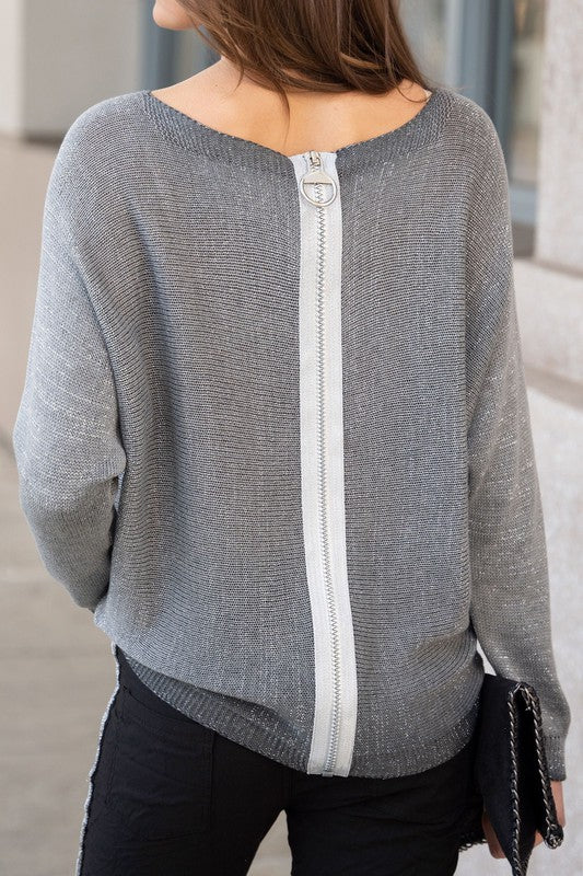 THE WEAR WITH ALL ITALIAN KNIT - GREY