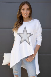 THE BRIGHT STAR ASYMMETRIC TOP